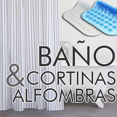 cortinas de baño, cortinas de ducha, alfombras de baño, alfombras para ducha,