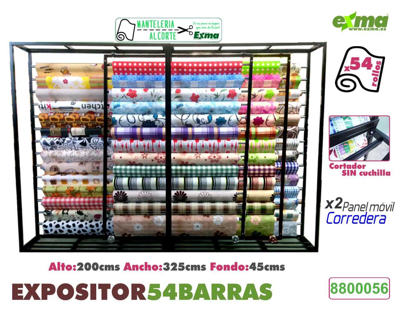 expositor hules