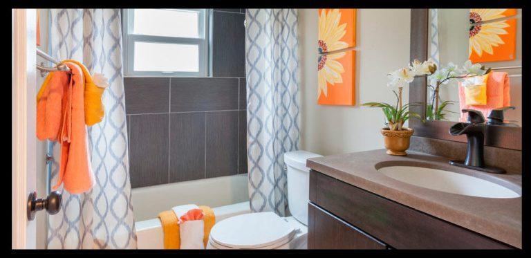Cortinas de baño con estampado original