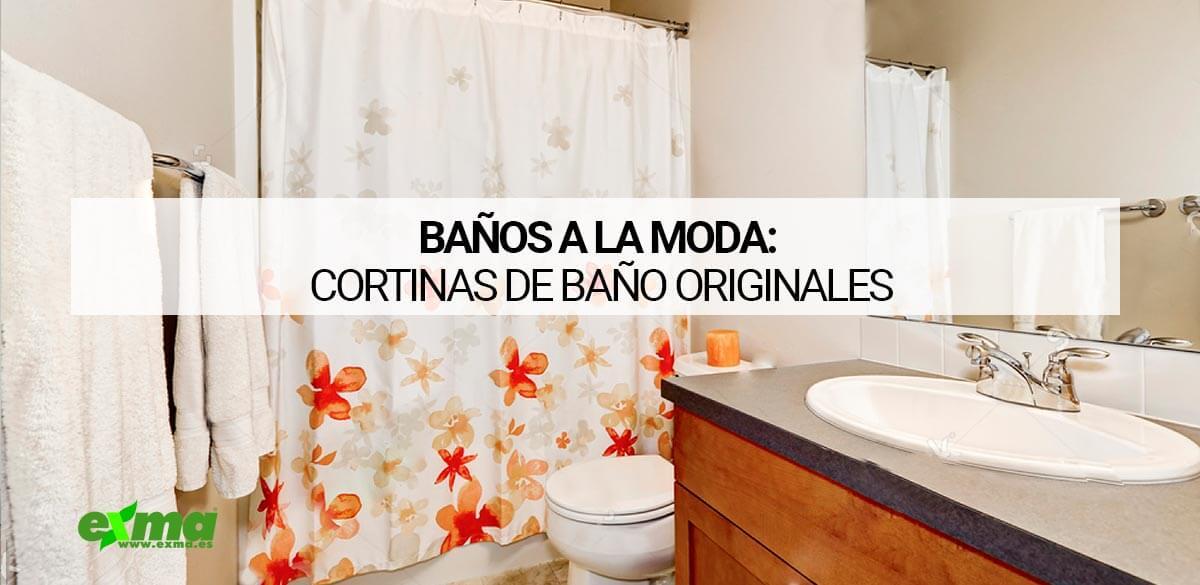 Cortinas de baño originales