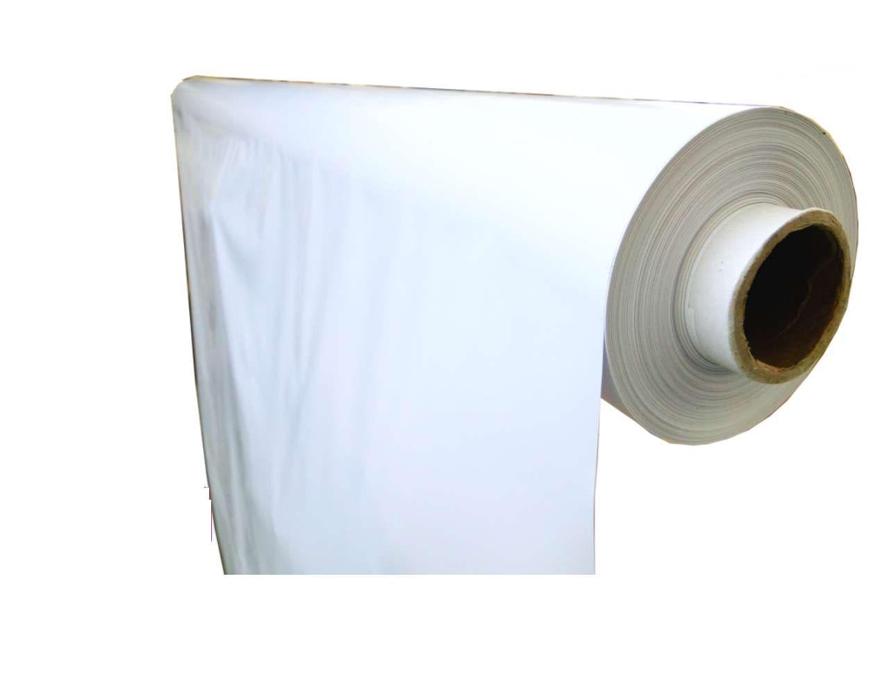 lámina plástico liso brillo blanco