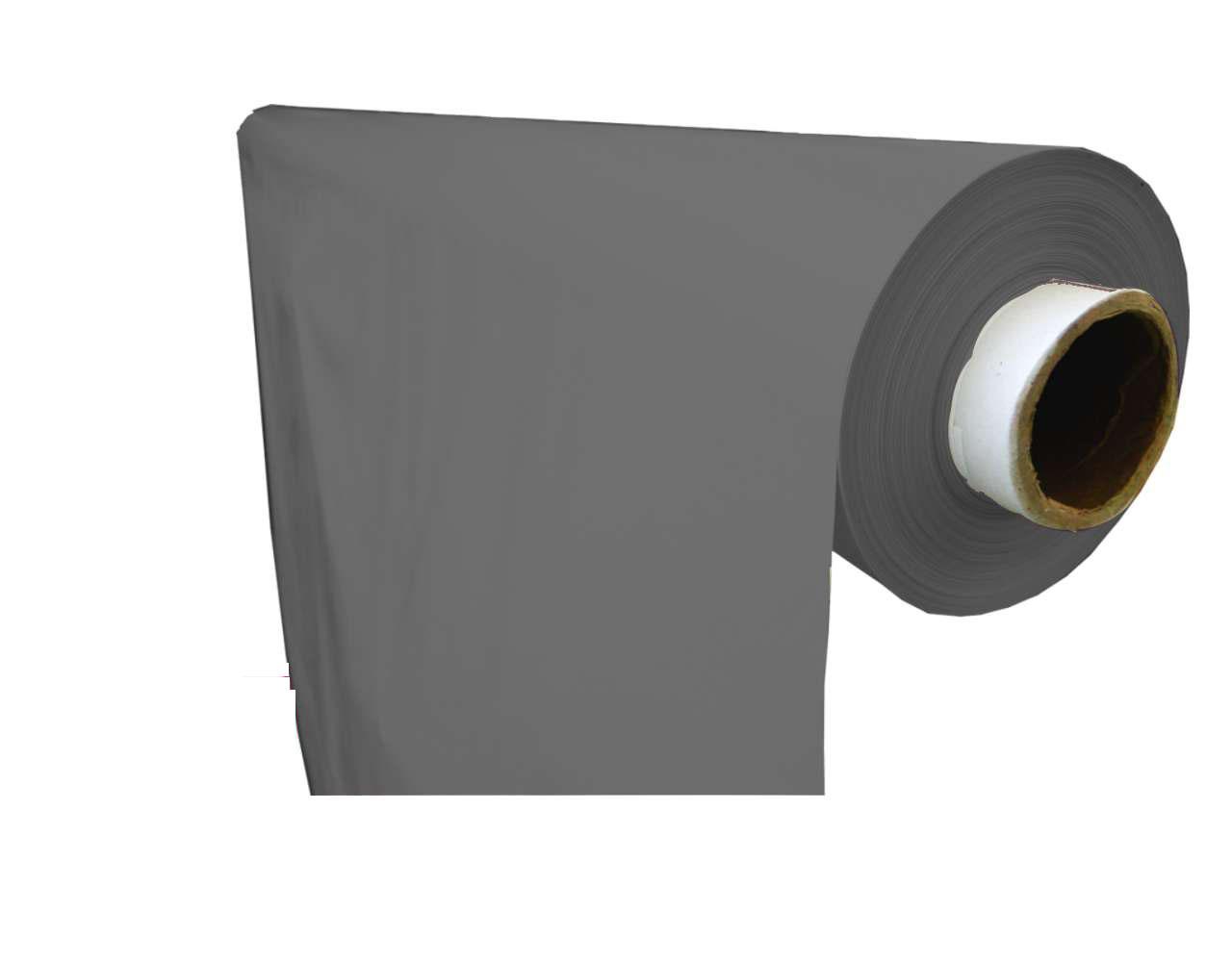 lámina plástico liso gris