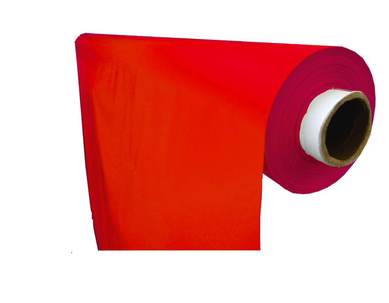 lámina plástico liso rojo