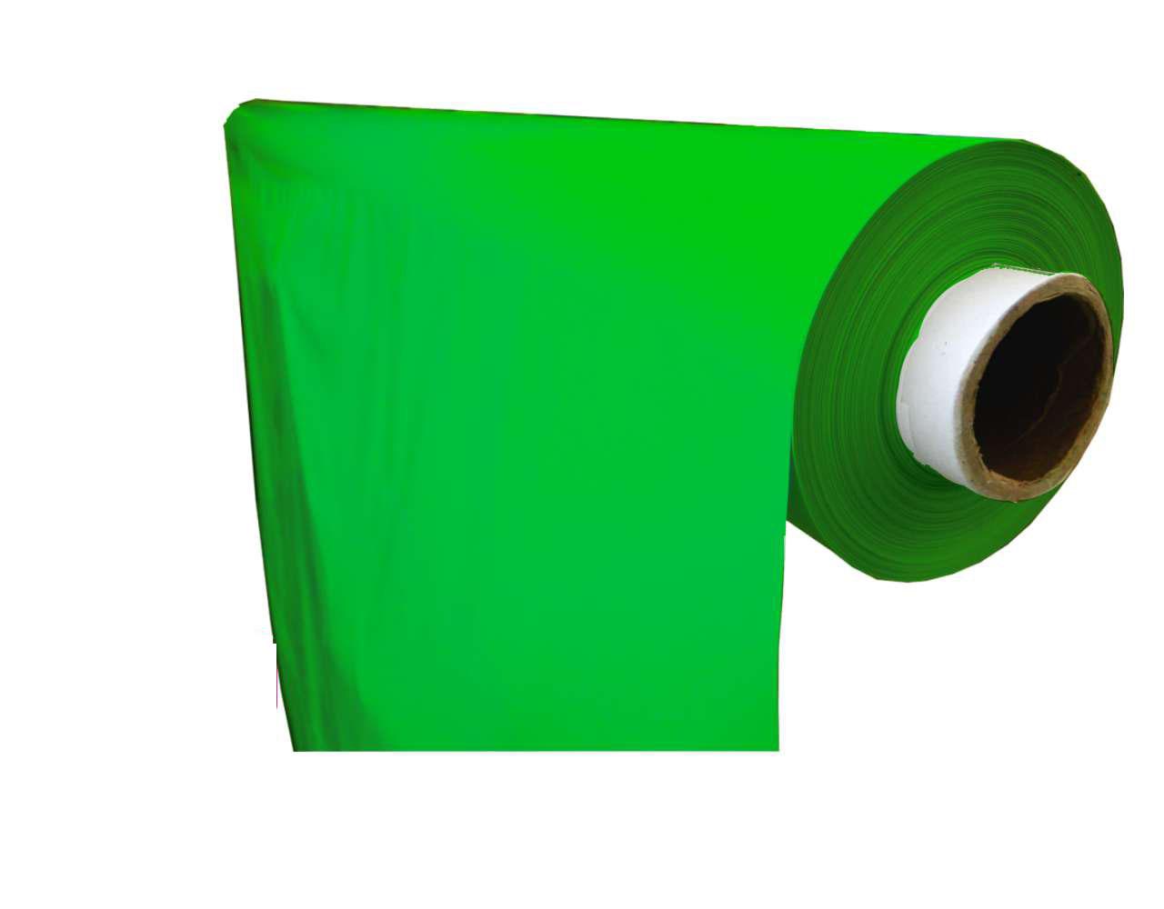 lámina plástico liso verde