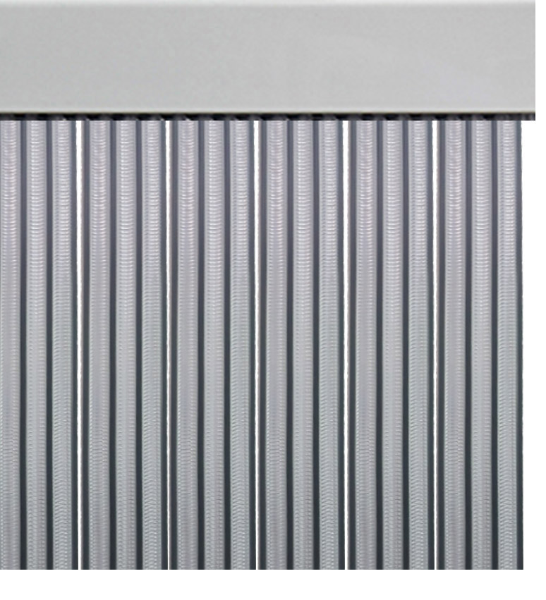 Cortina de tiras cintas espiral para puertas