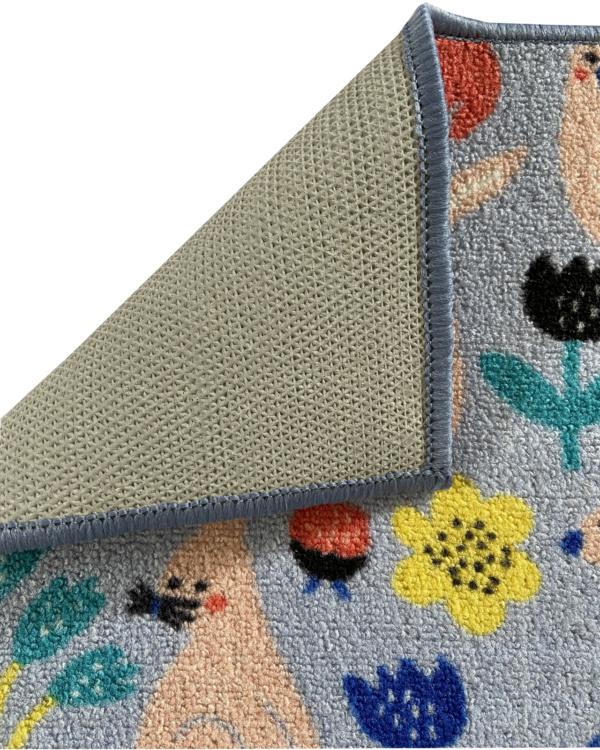 alfombra infantil conejito bynny antideslizante barata exma