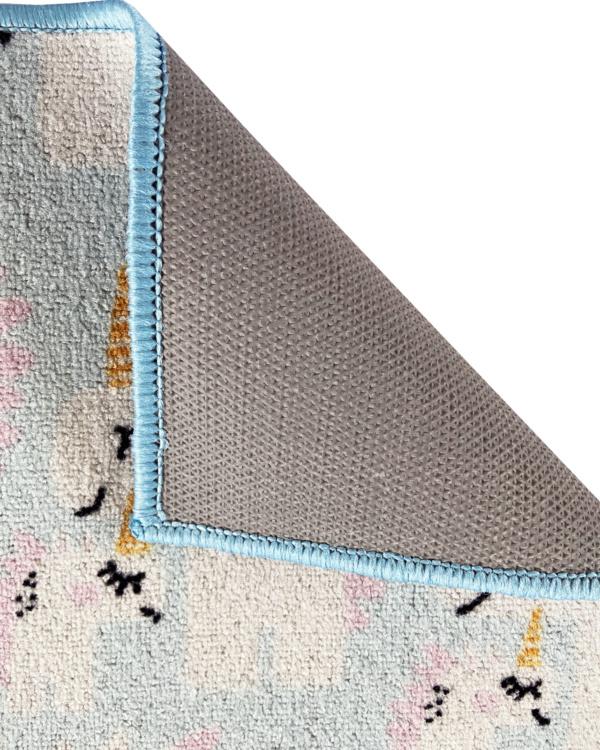 alfombra infantil unicornio antideslizante barata exma