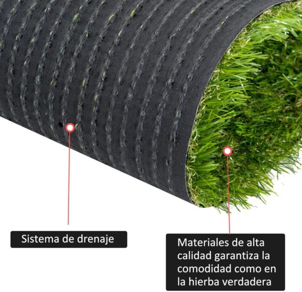 césped artificial barato 30 mm