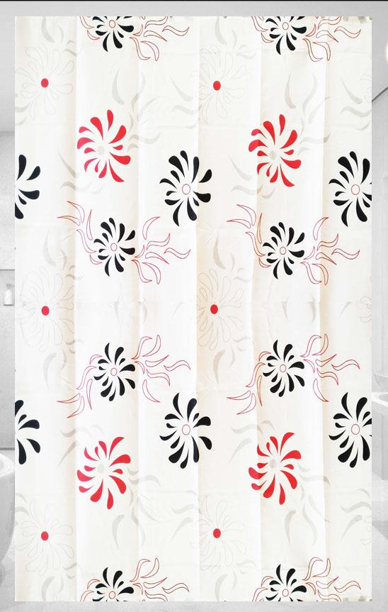 cortina de baño y ducha poliester