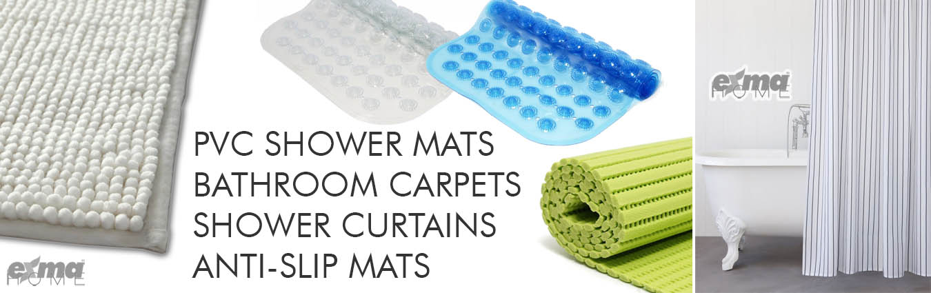 SHOWER MATS & BATHROOMS